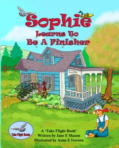 Sophie Learns to Be a Finisher BookCover-8x10-Color-241x300