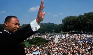 Dr. Martin Luther King, Jr. at the Washington Mall
