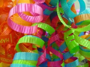 festive ribbons