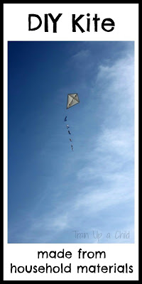 DIY Kite made from household materials