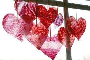 valentine wax paper crayon hearts final-hearts