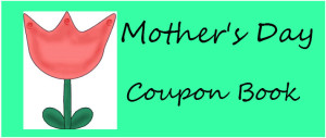 Mother's Day Coupon Book Cover